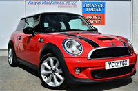 USED 2012 12 MINI HATCH COOPER 1.6 COOPER S 3d 184 BHP STUNNING IN RED