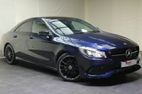 USED 2017 17 MERCEDES-BENZ CLA 2.1 CLA 220 D AMG LINE 4d AUTO 174 BHP LEATHER+PARKING SENSORS+NAV+BLUETOOTH+GEAR SHIFT PADDLES+ELECTRIC SEATS