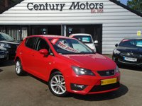 2012 SEAT IBIZA 1.6 TDI CR FR 5d - £30 TAX £4690.00