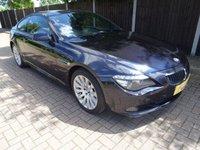 USED 2010 10 BMW 6 SERIES 3.0 635D SPORT 2d AUTO 282 BHP