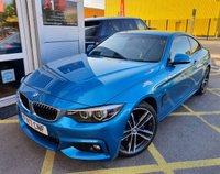 USED 2017 17 BMW 4 SERIES 2.0 420D M SPORT 2d AUTO 188 BHP/ REV.CAMERA/SAT NAV/  REVERSING CAMERA/ SAT NAV/ M SPORTS PLUS PACK/