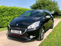 USED 2013 13 PEUGEOT 208 1.6 THP GTI200 BHP, 5 SERVICES, SAT NAV, BLUETOOTH, REAR PARK
