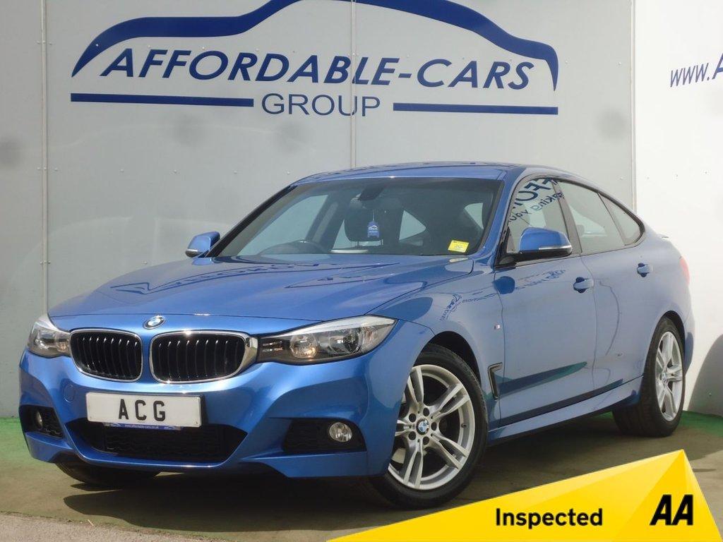 USED 2015 64 BMW 3 SERIES 2.0 320D M SPORT GRAN TURISMO 5d AUTO 181 BHP