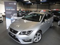 USED 2014 14 SEAT LEON 2.0 TDI FR TECHNOLOGY 5d 150 BHP