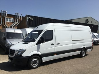 2017 MERCEDES-BENZ SPRINTER 2.1 314CDI LWB HIGH ROOF 140BHP. EURO 6. WARRANTY 04/2020 £15250.00