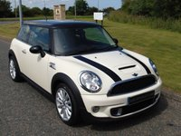 "USED 2012 12 MINI HATCH COOPER 2.0 COOPER SD 3d 141 BHP BLACK ROOF, 17"" ALLOYS, DAB"