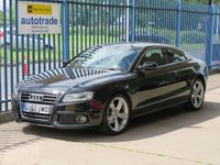 USED 2010 60 AUDI A5 2.0 TFSI S LINE SPECIAL EDITION Full leather Bluetooth & audio Full Leather Interior