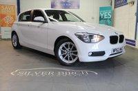 2013 BMW 1 SERIES 1.6 116D EFFICIENTDYNAMICS 5d 114 BHP