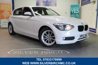 USED 2013 62 BMW 1 SERIES 1.6 116D EFFICIENTDYNAMICS 5d 114 BHP +++++Zero Road Tax++++++
