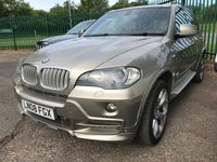 USED 2008 08 BMW X5 3.0 SD M SPORT 5d AUTO 282 BHP PAN ROOF SAT NAV LEATHER PANORAMIC SUNROOF. SATELLITE NAVIGATION. 4WD. STUNNING GOLD MET WITH FULL BEIGE LEATHER TRIM. ELECTRIC MEMORY SEATS. CRUISE CONTROL. SIDE STEPS. 20 INCH ALLOYS. COLOUR CODED TRIMS. PRIVACY GLASS. PARKING SENSORS. REVERSING CAMERA. BLUETOOTH PREP. DUAL CLIMATE CONTROL INCLUDING AIR CON. R/CD PLAYER. MFSW. ROOF BARS. MOT 12/19. AGE/MILEAGE RELATED SALE ONLY. PRESTIGE SUV CENTRE - LS24 8EJ. TEL 01937 849492 OPTION 1