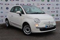 2010 FIAT 500 1.2 LOUNGE 3d 69 BHP £3795.00