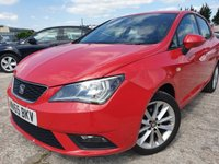 USED 2016 65 SEAT IBIZA 1.0 VISTA 5d 74BHP PARKING+LOWMILE+2KEEPERS+ALLOYWHEELS+AIRCON+30ROADTAX+