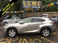 "USED 2016 16 LEXUS NX 2.5 300H PREMIER 5d AUTO 153 BHP Lexus NX 300h 2.5 Premier CVT  29'490 miles  Specification 18"" Diamond Turned Alloy Wheels Panoramic Glass Roof Satellite Navigation Head Up Display DAB/CD/USB/AUX ports Climate Control Leather Interior Metallic Paint Fog Lights Cruise Control Front & Rear Parking Sensors Rear View Camera Heated & Cooled Front Seats  Service History 30/05/2019 06/07/2018 06/07/2017"