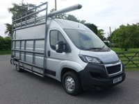 USED 2018 68 PEUGEOT BOXER 335 PROFESSIONAL L3 H2 LWB HIGHTOP GLAZING VAN 2.2HDI 130 BHP Top Of Range Only 8 Months Fully Fitted Glazing / Frail Van - This Van Has Had The Ultimate Conversion, Rare Van & Excellent Value!