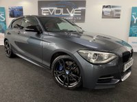 USED 2014 14 BMW 1 SERIES 3.0 M135I 3d AUTO 316 BHP F/S/H, LOW MILES, IMMACULATE!