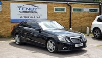 USED 2010 10 MERCEDES-BENZ E CLASS 2.1 E250 CDI BLUEEFFICIENCY SPORT 4d AUTO 204 BHP