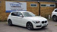 2014 BMW 1 SERIES 2.0 116D SPORT 5d 114 BHP £7484.00