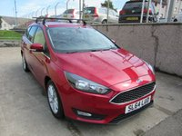 2014 FORD FOCUS 1.6 ZETEC TDCI 5d 114 BHP ESTATE FACE LIFT MODEL £7995.00