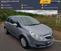 USED 2007 56 VAUXHALL CORSA 1.0 LIFE 3d 60 BHP IDEAL FIRST CAR