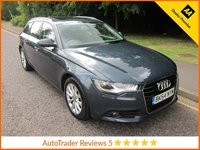 USED 2014 64 AUDI A6 2.0 AVANT TDI ULTRA SE 5d 188 BHP Lovely High Spec Audi A6 Avant with Full Leather, Satellite Navigation, Electric Glass Sunroof, Climate Control, Cruise Control, Alloy Wheels and Service History.  This Vehicle is ULEZ Compliant.
