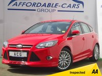 USED 2014 14 FORD FOCUS 2.0 ZETEC S TDCI 5d 161 BHP
