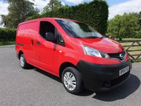 USED 2015 64 NISSAN NV200 ACENTA 1.5 DCI 110 BHP Rarely Available With No VAT! Good Looking NV200 Acenta In Bright Red! Low Mileage With Full service History!