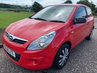 USED 2011 61 HYUNDAI I20 1.2 Classic 3dr £30 Tax ! 2 Owners ! F/S/H !