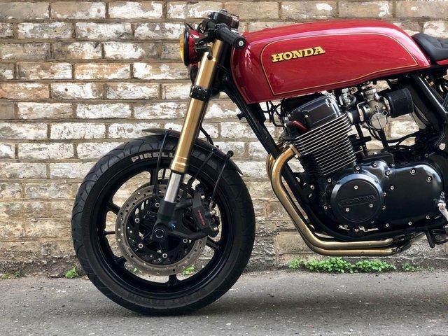 1974 W HONDA CB750 Cafe Racer // 750cc // Px swap