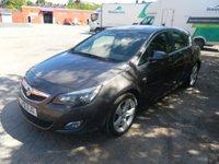 USED 2012 12 VAUXHALL ASTRA 1.6 SRI 5d 113 BHP