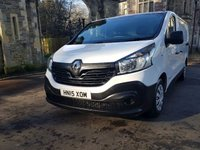 USED 2015 15 RENAULT TRAFIC 1.6 SL29 BUSINESS ENERGY DCI S/R P/V 1d 120 BHP