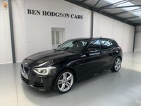 USED 2015 15 BMW 1 SERIES 2.0 118D M SPORT 5d 141 BHP £30 road tax! 1 owner!
