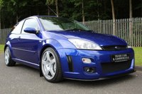 USED 2003 03 FORD FOCUS 2.0 RS 3d 215 BHP NO.1827 OF 4501, LOW OWNERS, SERVICE HISTORY, VERY CLEAN!!!