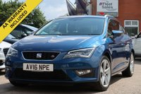 USED 2016 16 SEAT LEON 2.0 TDI FR TECHNOLOGY 5d 150 BHP SATELLITE NAVIGATION + FULL SERVICE HISTORY
