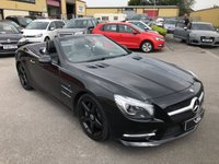 2013 MERCEDES-BENZ SL 3.5 SL350 2d AUTO 306 BHP Black Edition £27259.00