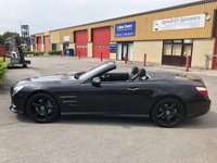USED 2013 63 MERCEDES-BENZ SL 3.5 SL350 2d AUTO 306 BHP Black Edition Stunning Car, Black Pack & Panoramic Roof, Colour Sat Nav, Bluetooth