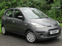 USED 2011 11 HYUNDAI I10 1.2 CLASSIC 5d * 1 OWNER FROM NEW * 128 POINT AA INSPECTED *LOW MILEAGE CAR *