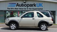 2006 LAND ROVER FREELANDER 2.0 TD4 ADVENTURER 3d 110 BHP £2995.00