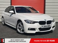 USED 2014 64 BMW 3 SERIES 2.0 320D M SPORT 4d 181 BHP £2,425 extras!
