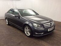 USED 2013 13 MERCEDES-BENZ C CLASS 2.1 C220 CDI BLUEEFFICIENCY AMG SPORT 4d AUTO 168 BHP ONE PREVIOUS OWNER, FULL SERVICE HISTORY