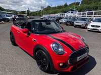 USED 2017 17 MINI CONVERTIBLE 1.5 COOPER 2d 134 BHP JCW John Cooper Works Options, low miles & high specification