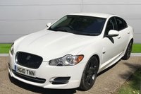 USED 2010 10 JAGUAR XF 3.0 V6 S PREMIUM LUXURY 4d AUTO 275 BHP ONE OWNER LOW MILEAGE FINANCE ME TODAY-UK DELIVERY POSSIBLE