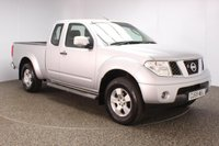USED 2009 59 NISSAN NAVARA 2.5 2DR £7480 NO VAT SERVICE HISTORY + BLUETOOTH + AIR CONDITIONING + RADIO/CD + SIDE STEPS + ELECTRIC WINDOWS + ELECTRIC MIRRORS + 16 INCH ALLOY WHEELS