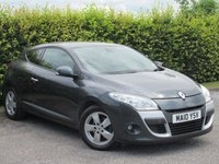 USED 2010 10 RENAULT MEGANE 1.6 DYNAMIQUE VVT 2d * 6 SPEED GEARBOX * SPEED LIMITER * AUTO HEADLAMPS AND WIPERS *