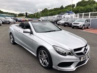 USED 2016 16 MERCEDES-BENZ E CLASS 2.1 E220 BLUETEC AMG LINE 2d AUTO 174 BHP Only 8,000 miles with high specification