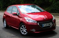USED 2013 13 PEUGEOT 208 1.2 ACTIVE 5d 82 BHP Low Mileage