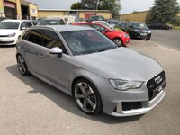 USED 2015 S AUDI A3 2.5 RS3 SPORTBACK QUATTRO 5d AUTO 362 BHP Stunning Car, Huge Spec, Huge Performance, Must Be Seen