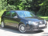 USED 2008 58 VOLKSWAGEN GOLF 2.0 GT TDI 5d 138 BHP LOW MILEAGE, FULL HEATED LEATHER