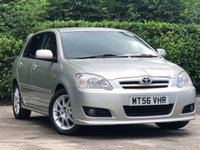 2007 TOYOTA COROLLA 1.6 SR VVT-I 5d 109 BHP £3000.00