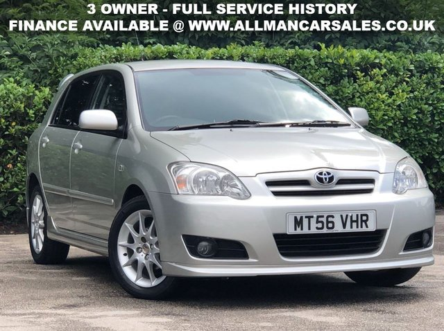 View our TOYOTA COROLLA