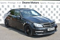 USED 2011 61 MERCEDES-BENZ C CLASS 6.2 C63 AMG EDITION 125 4d AUTO 457 BHP
